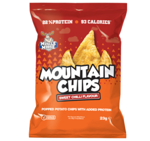Muscle Moose Mountain Chips Sweet Chilli 23g