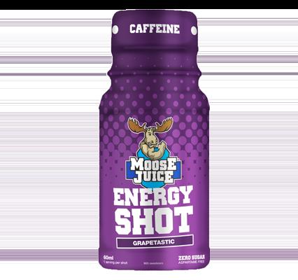 Moose Juice Energy Shot Grapetastic