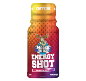 Moose Juice Energy Shot Rainbow Candy