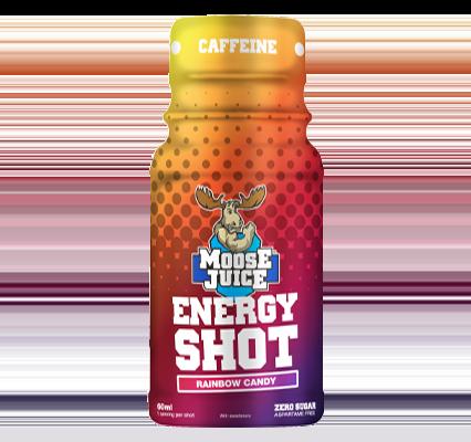 Moose Juice Energy Shot Rainbow Candy