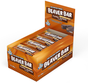 Beaver Bar Choc Caramel Box