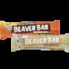 Single Choc Caramel Beaver Bar and single White Chocolate Beaver Bar.