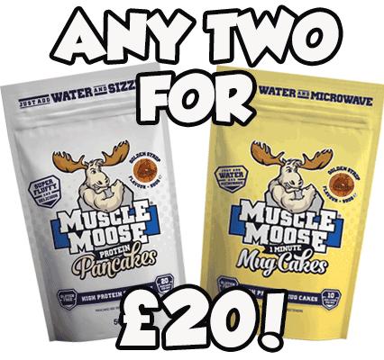 Pancakes & Mug Cakes - 2 for £20!