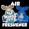moose juice car air freshener
